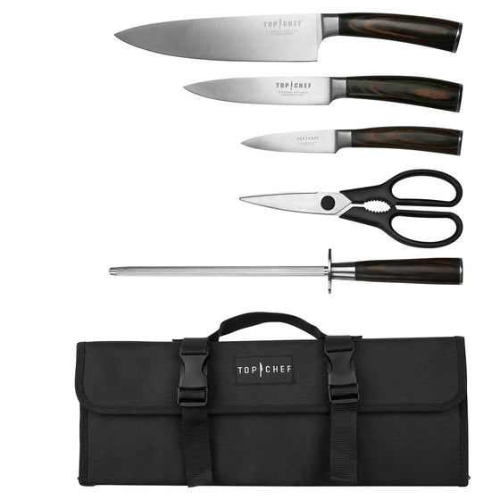 TOP CHEF® Dynasty 6-Piece Carrying Case Set