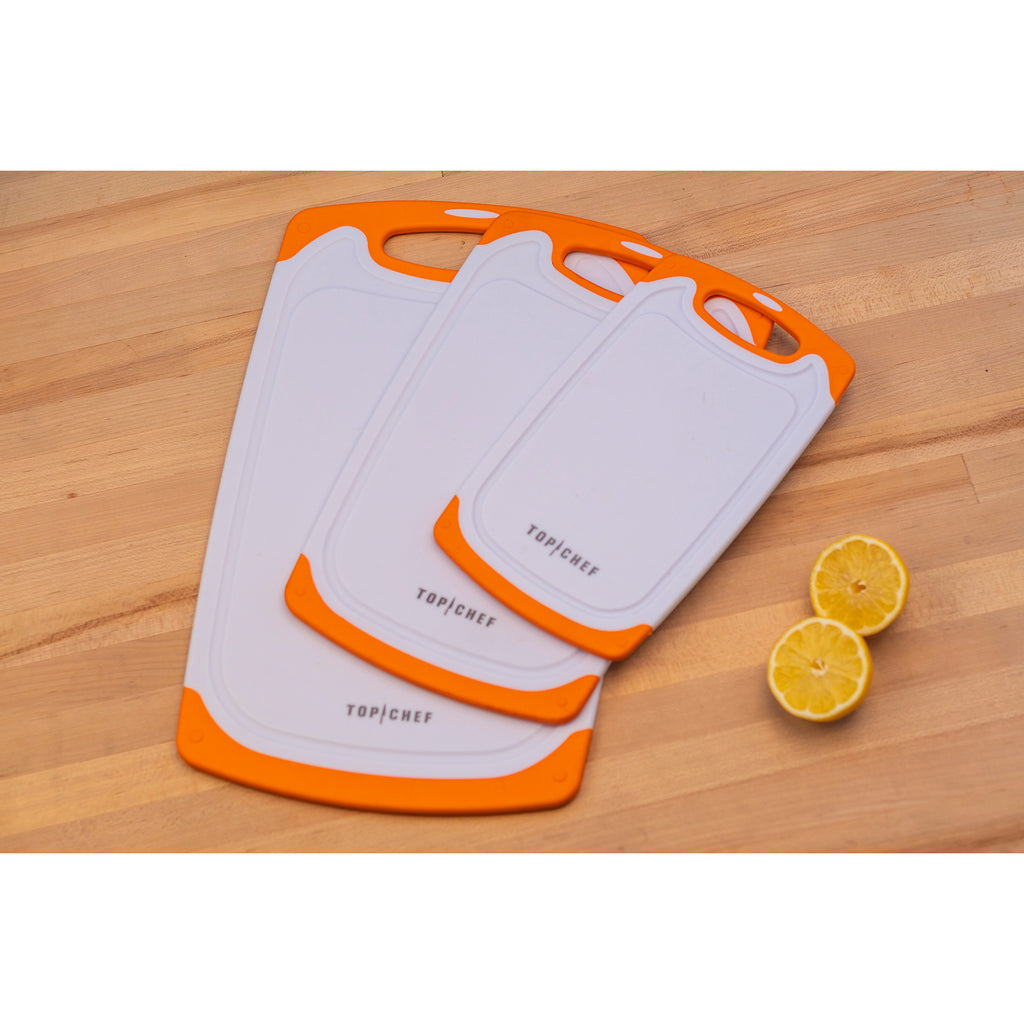 TOP CHEF® Poly Cutting Board 3-Piece Set