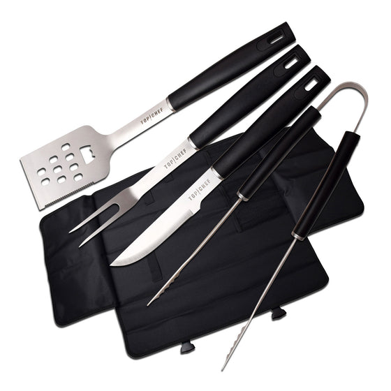TOP CHEF® 5 PC BBQ Set with Carrying Case