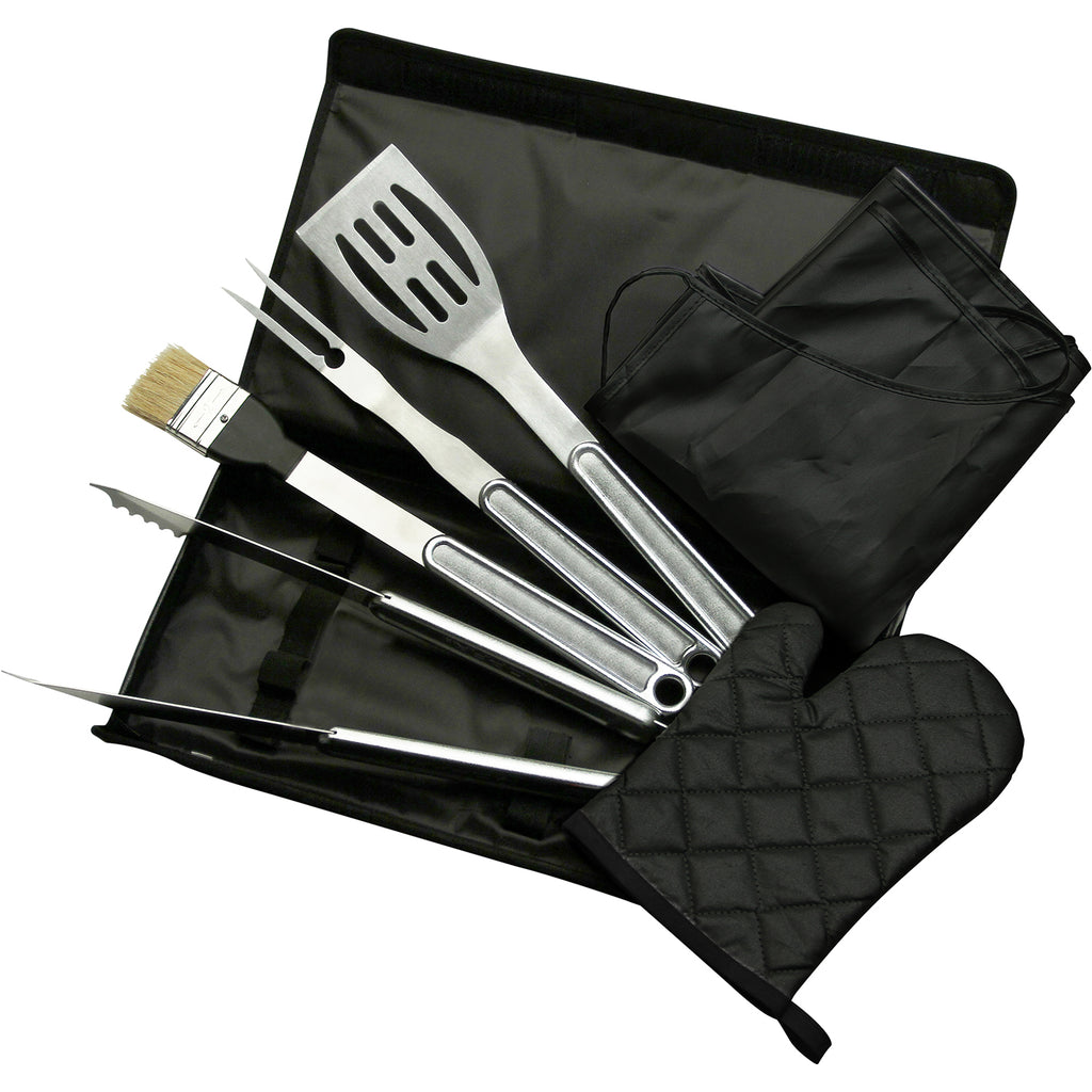 TOP CHEF® 7 PC BBQ Set with Carrying Case