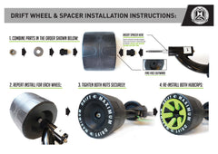 Drift Trike Wheel Spacers
