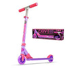 Madd Gear Kids Kick Aluminum Folding Razor Scooter Pink