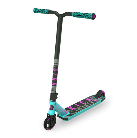 Madd Gear Kick Extreme Pro Scooter Teal Pink