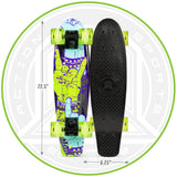 Madd Complete Skateboard Black Green