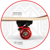 Madd Gear Complete Popsicle Board Red Maple Kids
