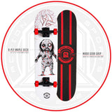 Madd Skateboard Black Red White Complete