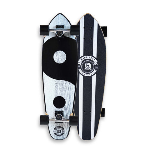 Madd Cruiser Complete Skateboard Ying Yang
