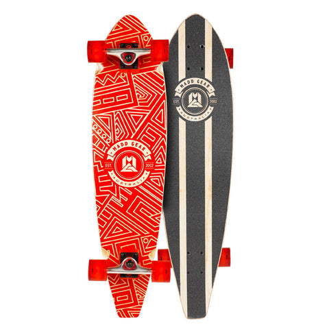 "Madd Gear 36"" Longboard Complete Kids Red"