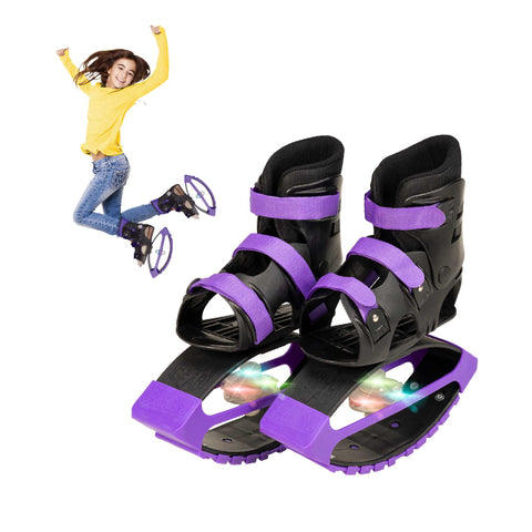 Madd Jumping Shoes Moon Boost Boots Girls Purple