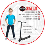 Madd Gear Carve Elite Stunt Scooter Kids Tricks