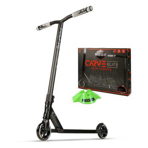 Madd Gear Carve Elite Black Pro Scooter