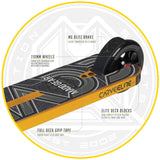 Madd Gear Carve Elite Gold Pro Razor Scooter Envy