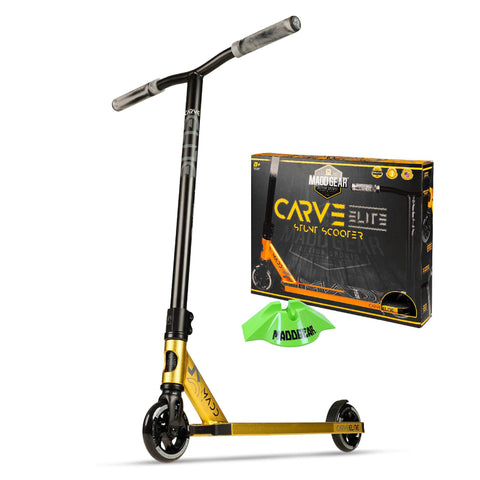 Madd Gear Carve Elite Gold Stunt Razor Scooter Trick