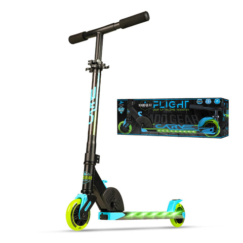 Madd Gear Flight Kids Light Up Folding Kick Scooter