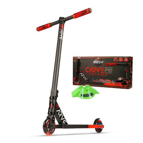 Madd Gear Carve Pro Scooter Black Red Stunt