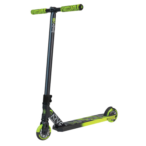 Madd Gear Carve Pro Scooter Black Green