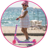 Little Girls Scooter Pink