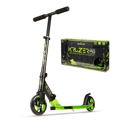 Madd Gear Kruzer 150 Folding Scooter Green