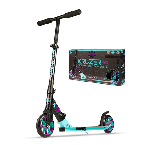 Madd Gear Kruzer 150 Folding Scooter Teal