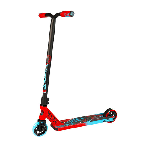 Madd Gear Kick Extreme Stunt Pro Scooter Red Blue