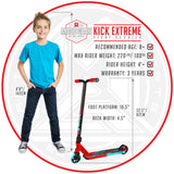 Madd Gear Kick Extreme Stunt Pro Scooter Red Blue Kids
