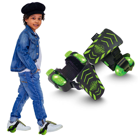 Madd Gear Neon Street Rollers Green Light-Up