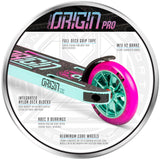 MGP Origin Pro Pink Teal Aluminum Core Wheel