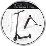 MGP Origin Team Scooter Black Dimensions Size