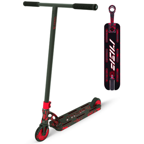 MGP VX9 Nitro Pro Scooter Red Splatter Trick Stunt Light