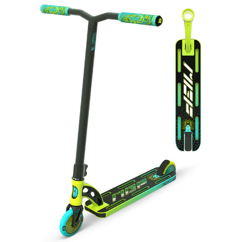 MGP VX9 Pro Scooter Lime Aqua Green Blue Stunt Trick Lightweight Light