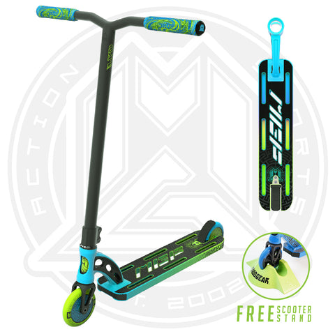 MGP VX9 Pro Scooter - Blue / Green - Main