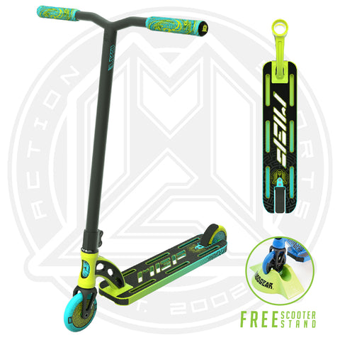 MGP VX9 Pro Scooter - Lime / Aqua - Main