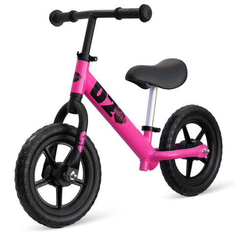 Madd Gear Rush Runner Kids Balance Bike Pink