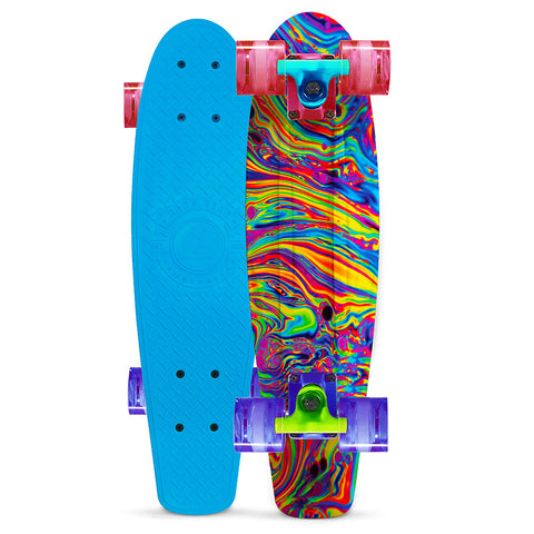 Madd Gear Retro Penny Skateboard Oil Slick