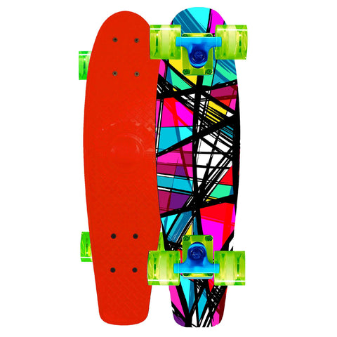 Madd Complete Penny Retro Skateboard Red