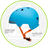 Madd Gear Kids Certified EPS Helmet Blue Orange
