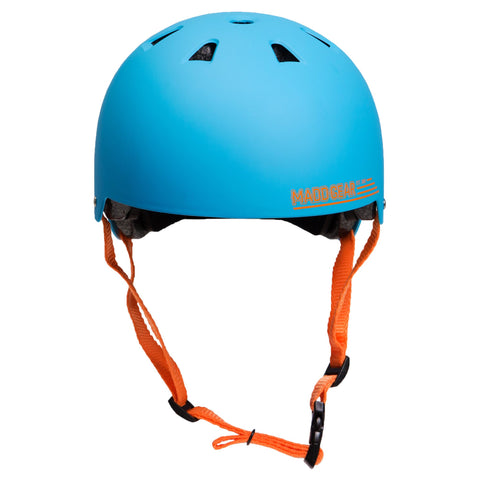 Madd Gear Kids Childrens Certified Helmet CPSC Blue Orange