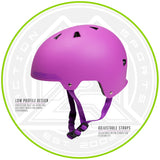 Madd Gear Kids Certified EPS Helmet Pink Purple