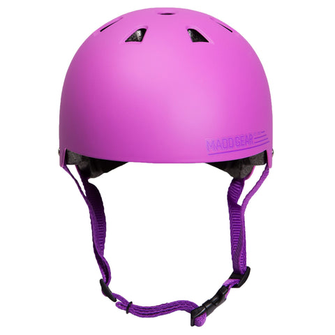 Madd Gear Kids Childrens Certified Helmet CPSC Pink Purple Girls