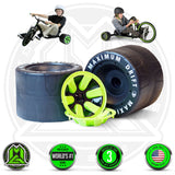 Madd Gear Drift Trike Huffy Green Machine Wheels Set