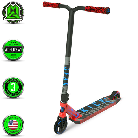 Madd Gear Kick Extreme Stunt Scooter Red Blue Main