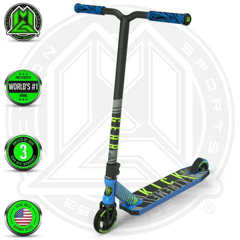 Madd Gear Kick Extreme Stunt Scooter Blue Green Main
