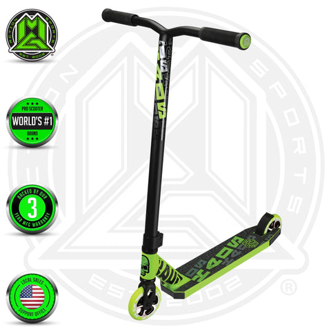 Madd Gear Kick Kaos Stunt Scooter Green Complete