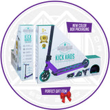 Madd Gear Kick Kaos Stunt Scooter - Purple / Teal Packaging