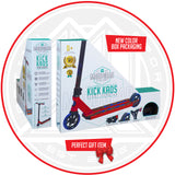 Madd Gear Kick Kaos Stunt Pro Scooter - Red / Blue Packaging