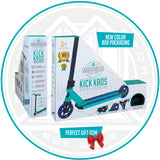 Madd Gear Kick Kaos Stunt Scooter - Teal / Blue Packaging