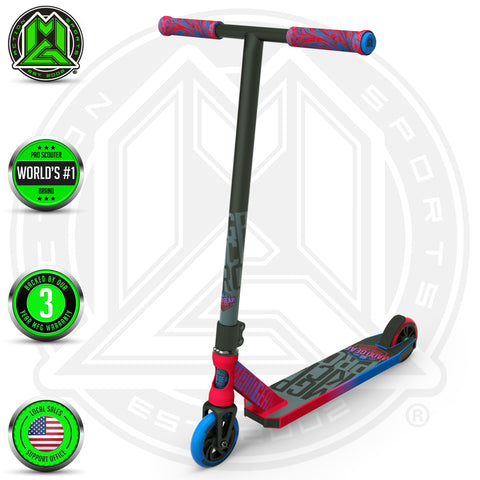 Madd Gear Kick Pro Stunt Scooter - Red / Blue