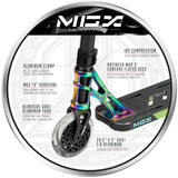 MGP MGX E1 Extreme Freestyle Scooter Neochrome VX10