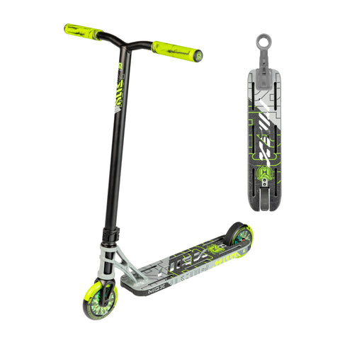 Madd Gear MGX P1 Pro Freestyle Scooter Grey Green