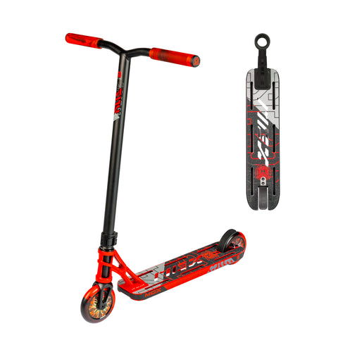 Madd Gear MGX P1 Pro Freestyle Scooter Red Black